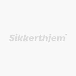 Preventiv Larmskylt | Larmsystem och SmartHome | SikkertHjem™ Scandinavia