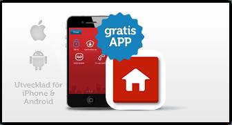 Gratis alarm app til iPhone og Android telefoner
