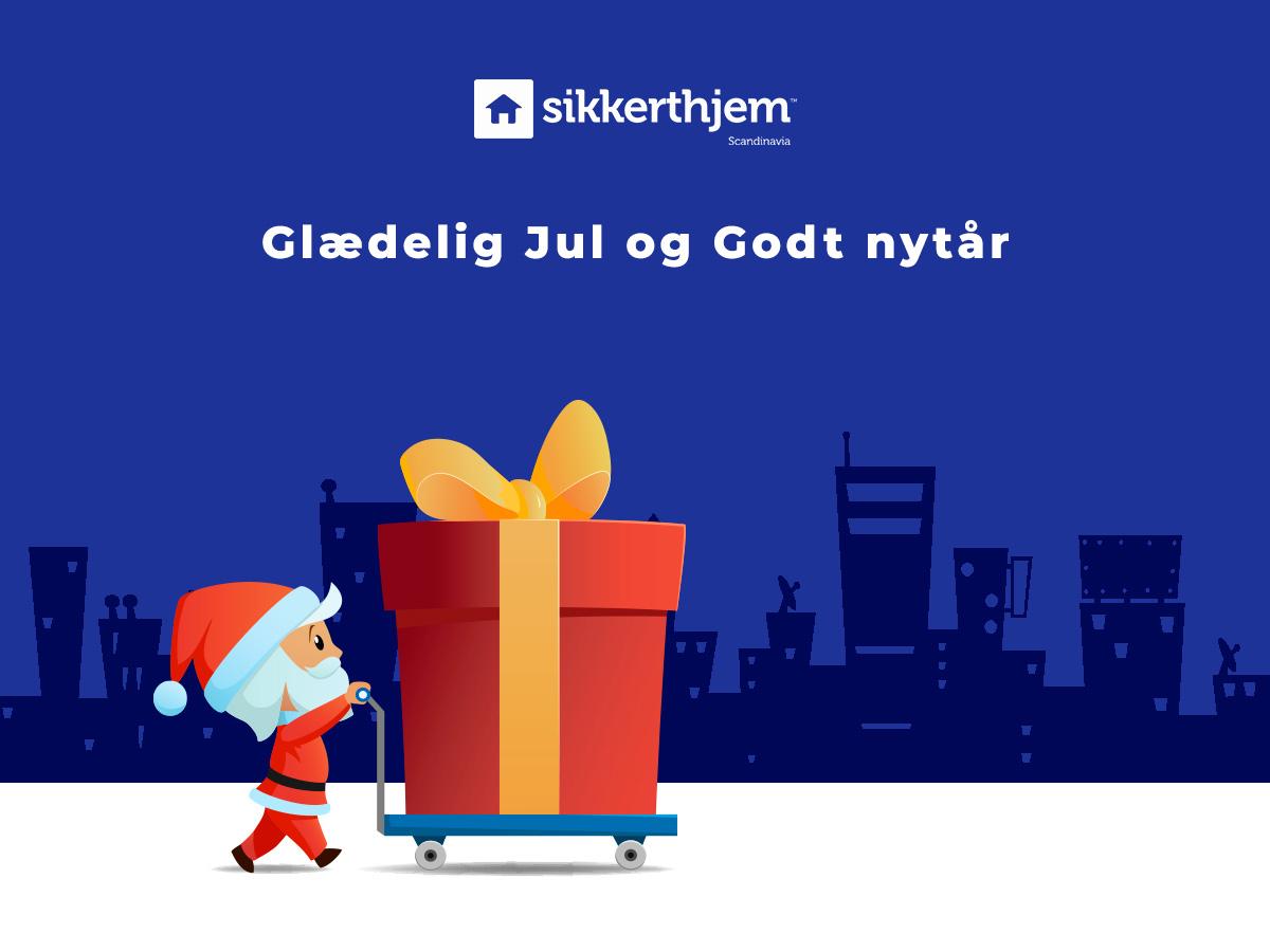 Åbningstider henover jul og nytår - SikkertHjem™ Scandinavia