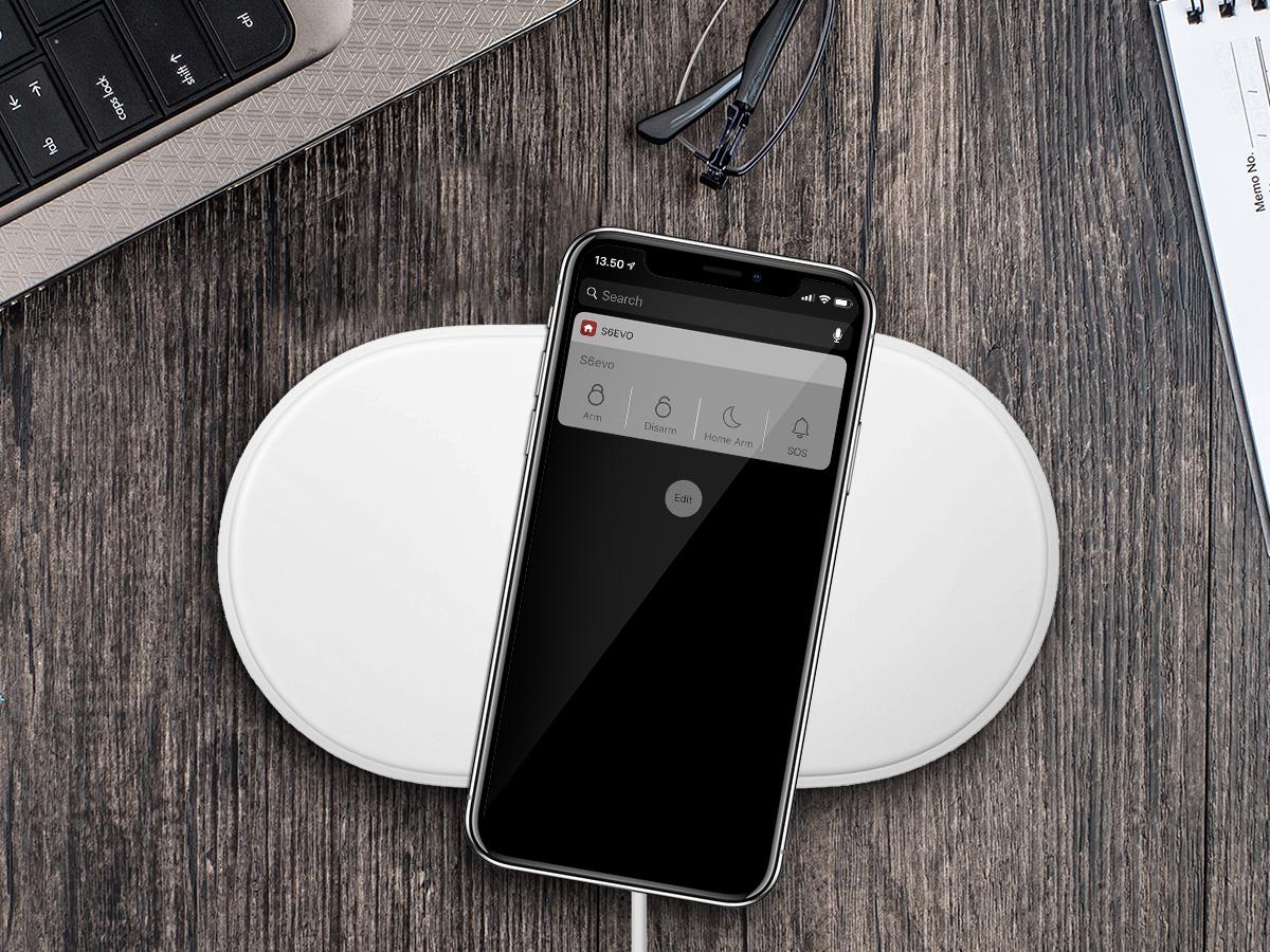 iOS® Widget på väg - SikkertHjem™ Scandinavia